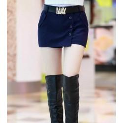 黑色女士短裙-937