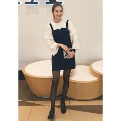 针织衫包臀裙两件套-1809