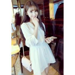 小清新衬衫裙连衣裙2071
