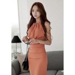 新款韩版连衣裙-705