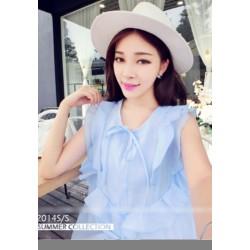 新款韩版雪纺连衣裙